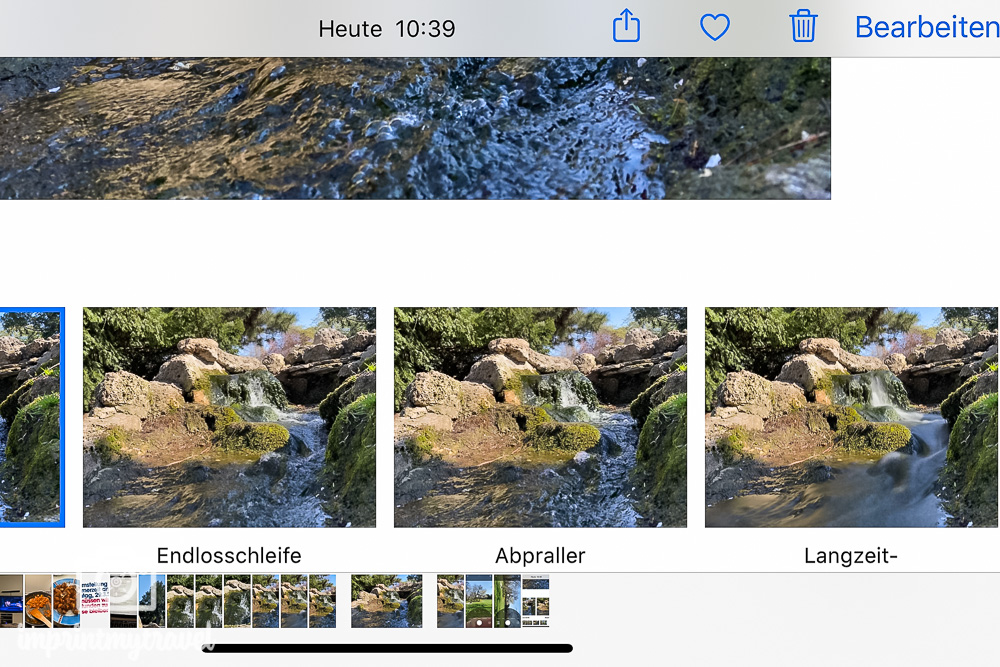 iPhone 11 Pro Effekte