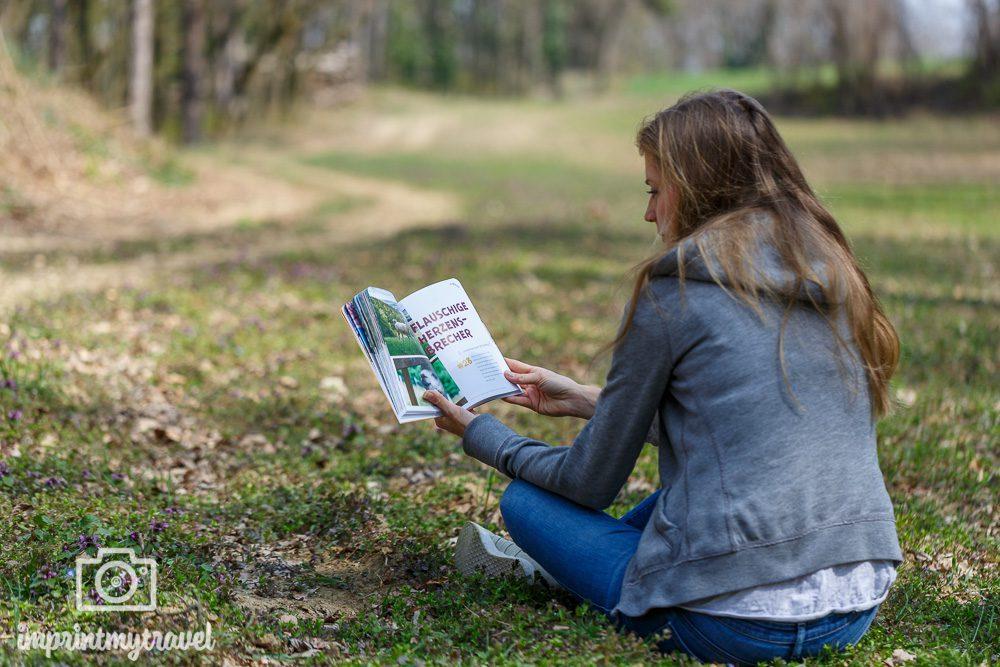 """Blick ins Buch """"52 Eskapaden in und um Wien"""""""