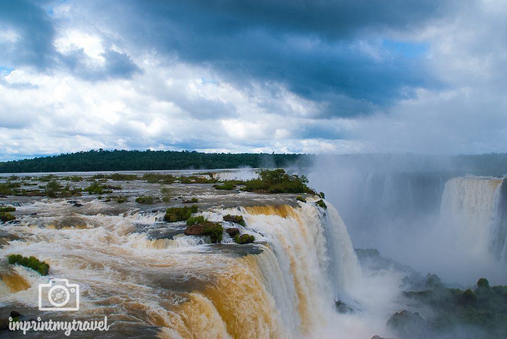 Die schönsten Locations der Welt Wasserfälle von Iguazu