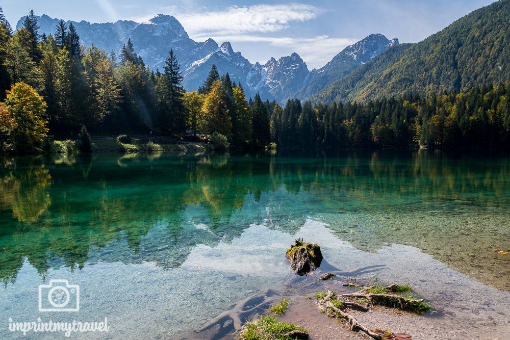 Die schönsten Orte der Welt Laghi di Fusine