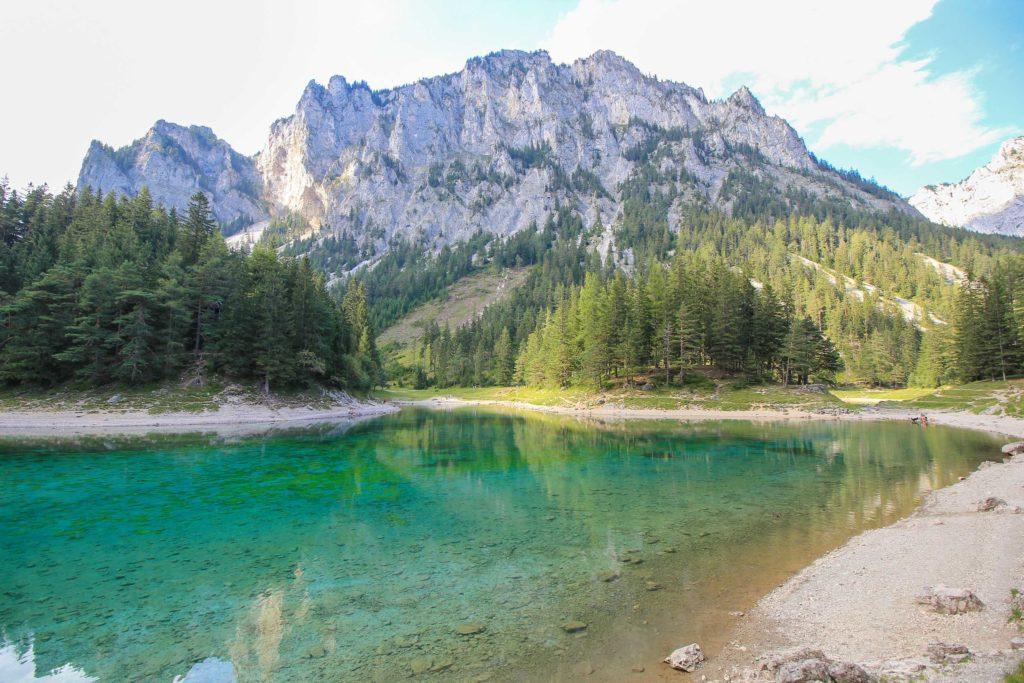 Urlaub in Österreich Grüner See Steiermark