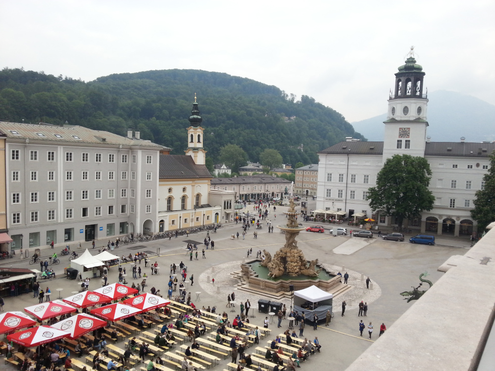 Städtereise nach Salzburg