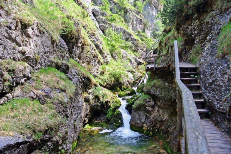 Ausflugsziel Österreich Wasserlochklamm