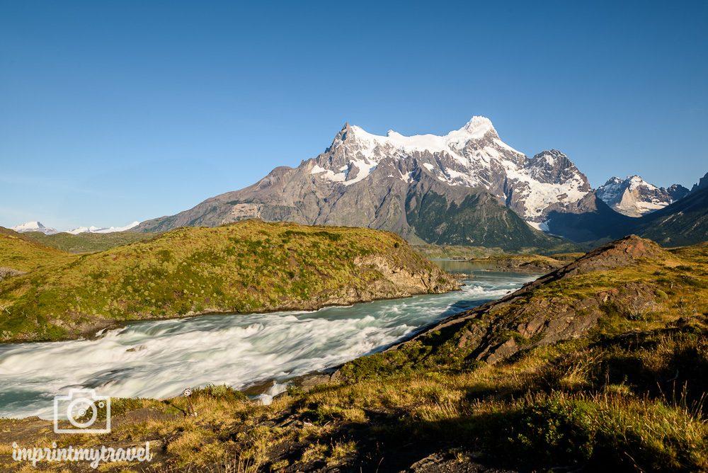 Langzeitbelichtung mit Graufilter im Torres del Paine Nationalpark