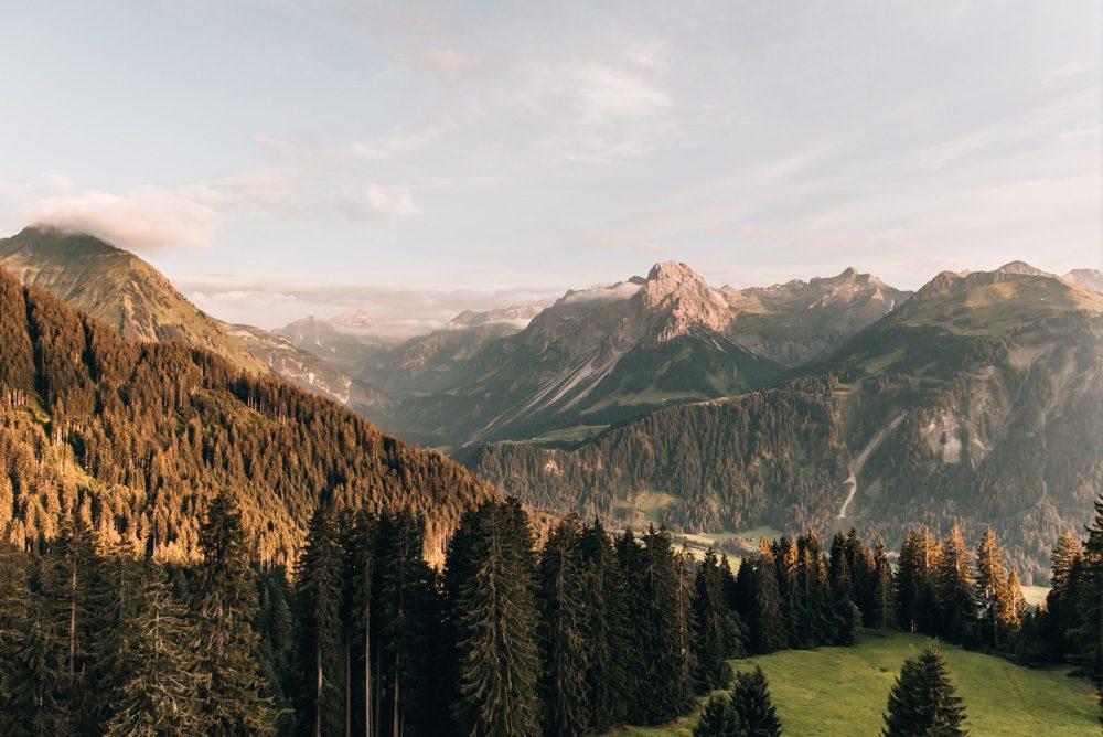 Sommerurlaub in Österreich Bregenzerwald