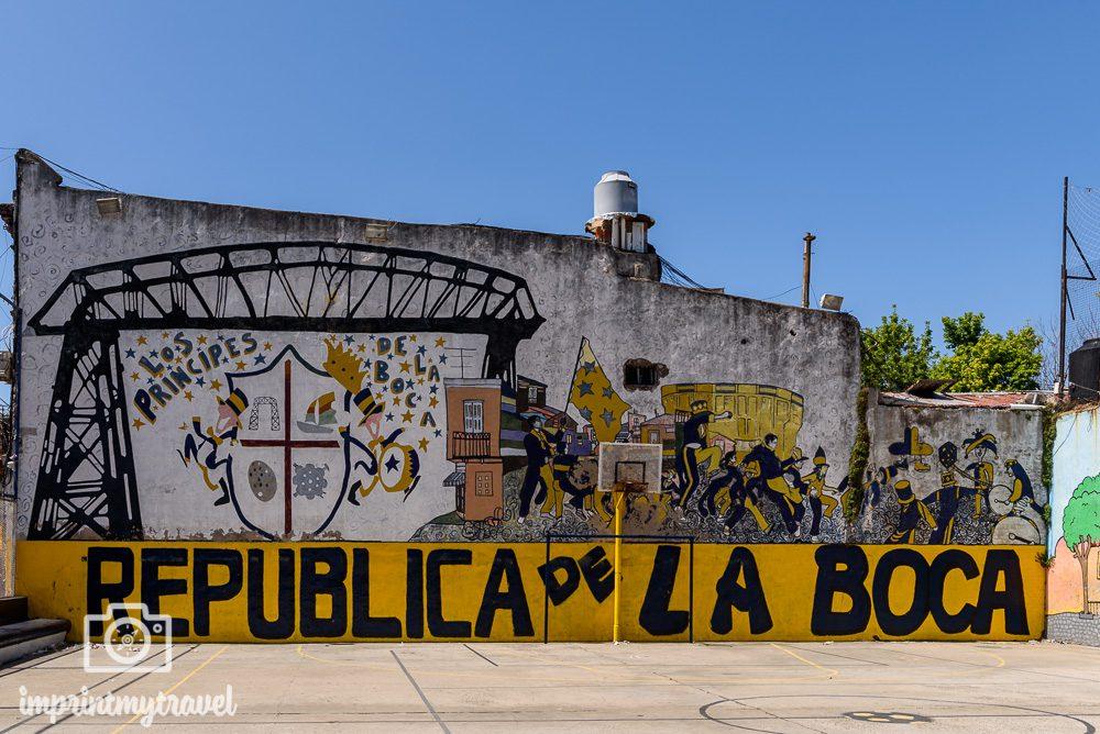 Street Art La Boca Buenos Aires