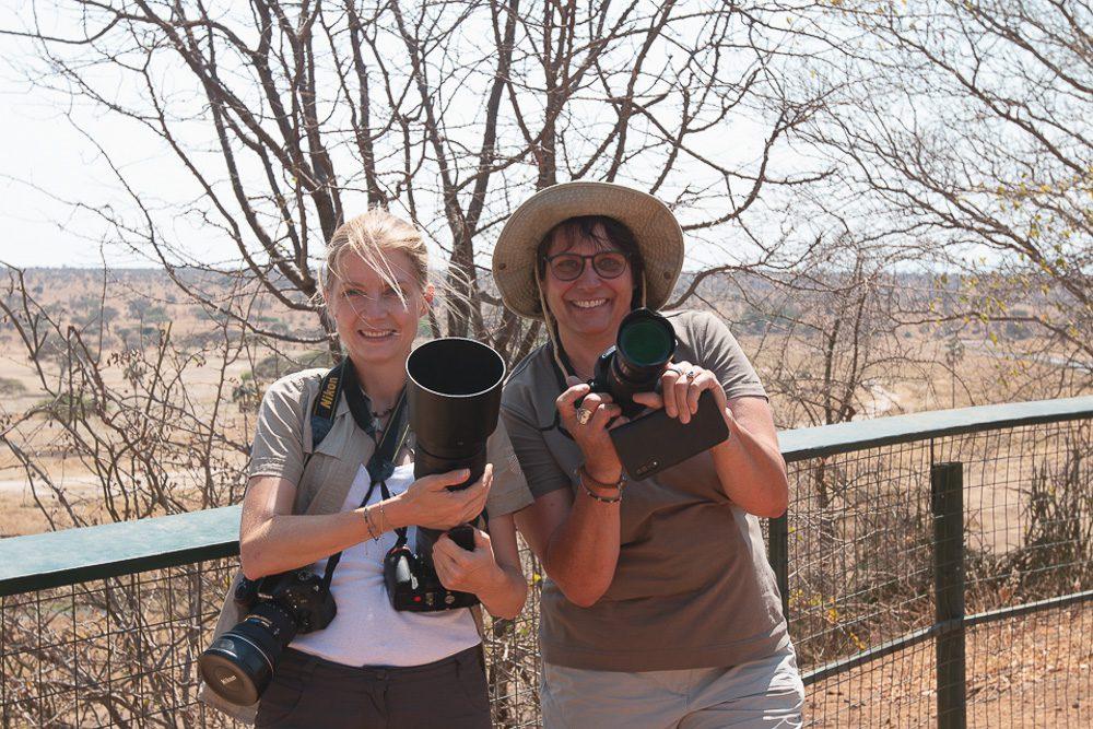 Safari Fotografie mit Wechselobjektiven und 2 Kameras