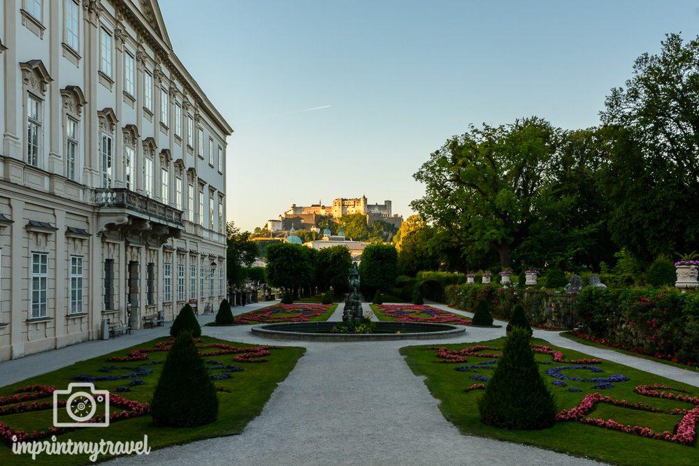 Fotospots in Salzburg Mirabellgarten