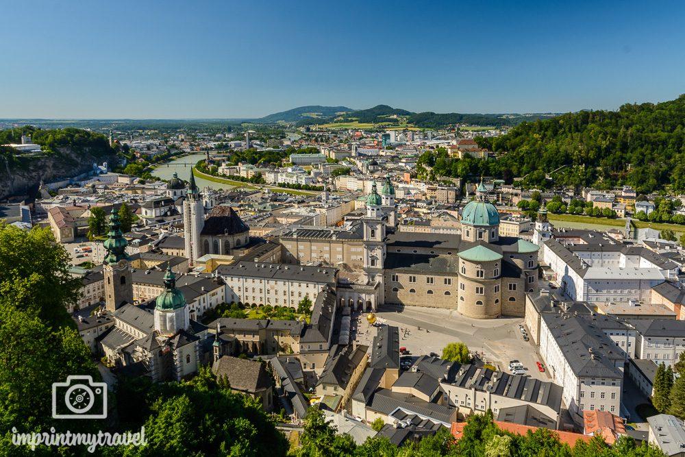 Aussichtspunkt Salzburg Festung Hohensalzburg