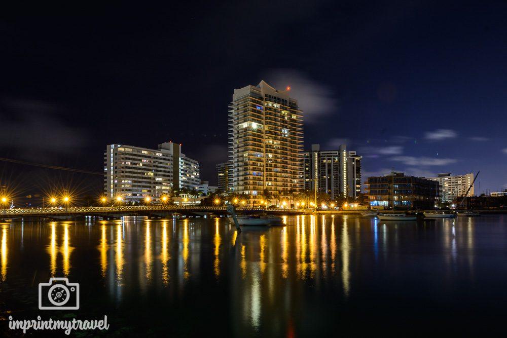 Nachtaufnahme Miami
