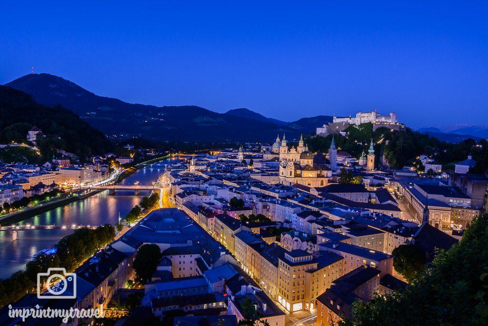 Fotospot in Salzburg Mönchsberg