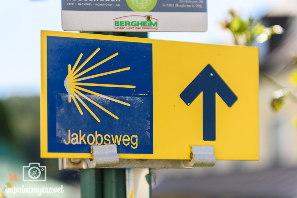 markierung jakobsweg