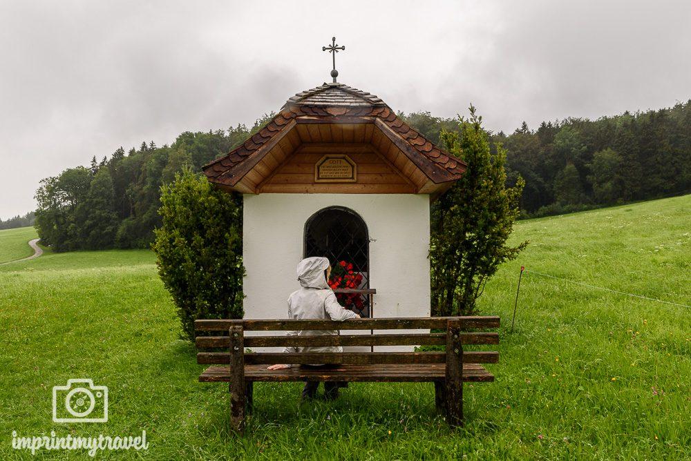 pilgern in Salzburg Marterl