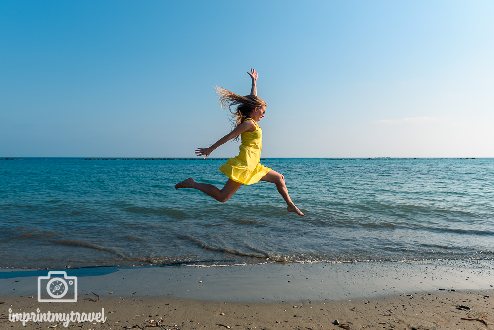 Geroskipou Beach Zypern