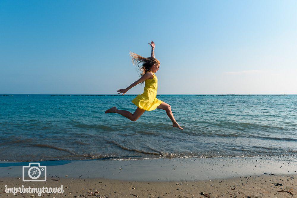 Schönste Strände Zyperns Geroskipou Beach