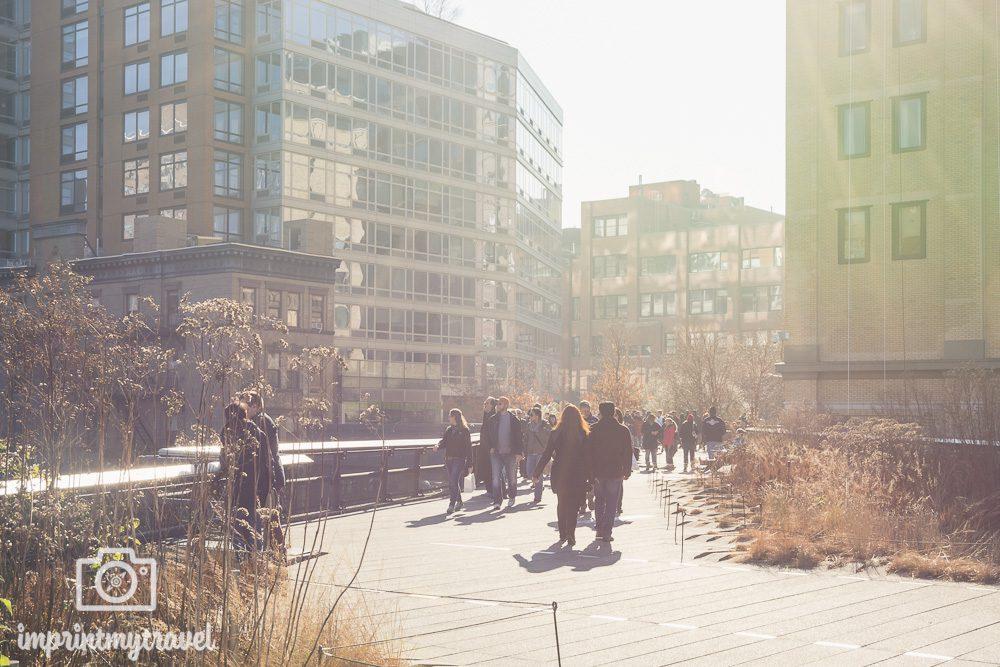 New York Highline Dezember