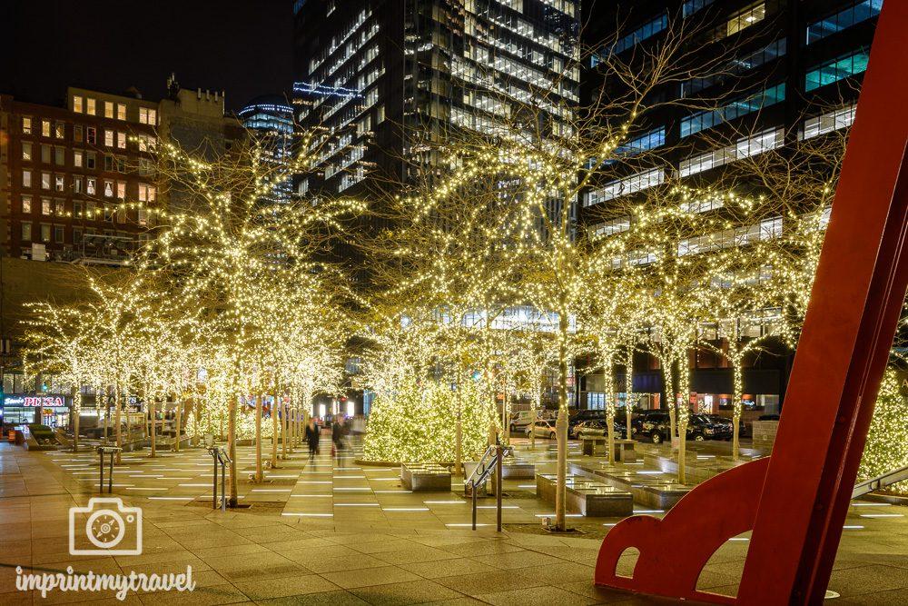 weihnachten in new york
