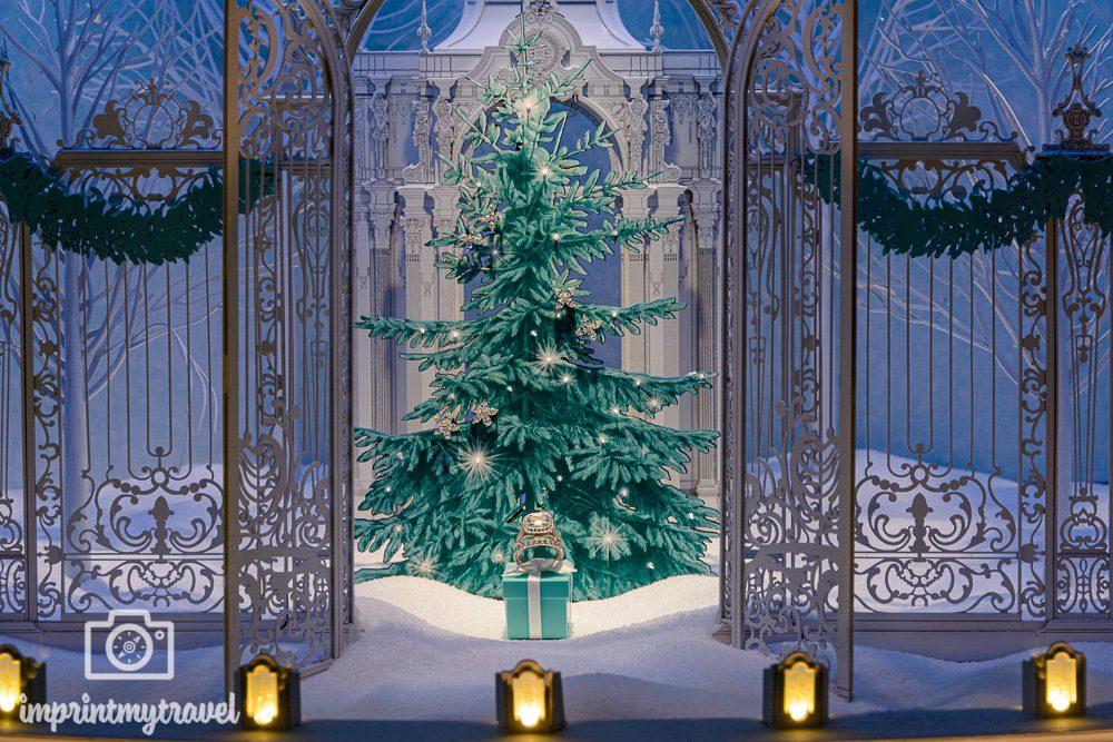 Weihnachtsdekoration bei Tiffany's New York