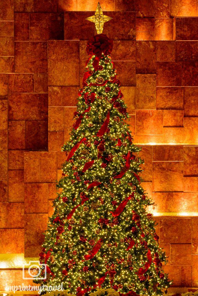 Weihnachtsbaum im Trump Tower