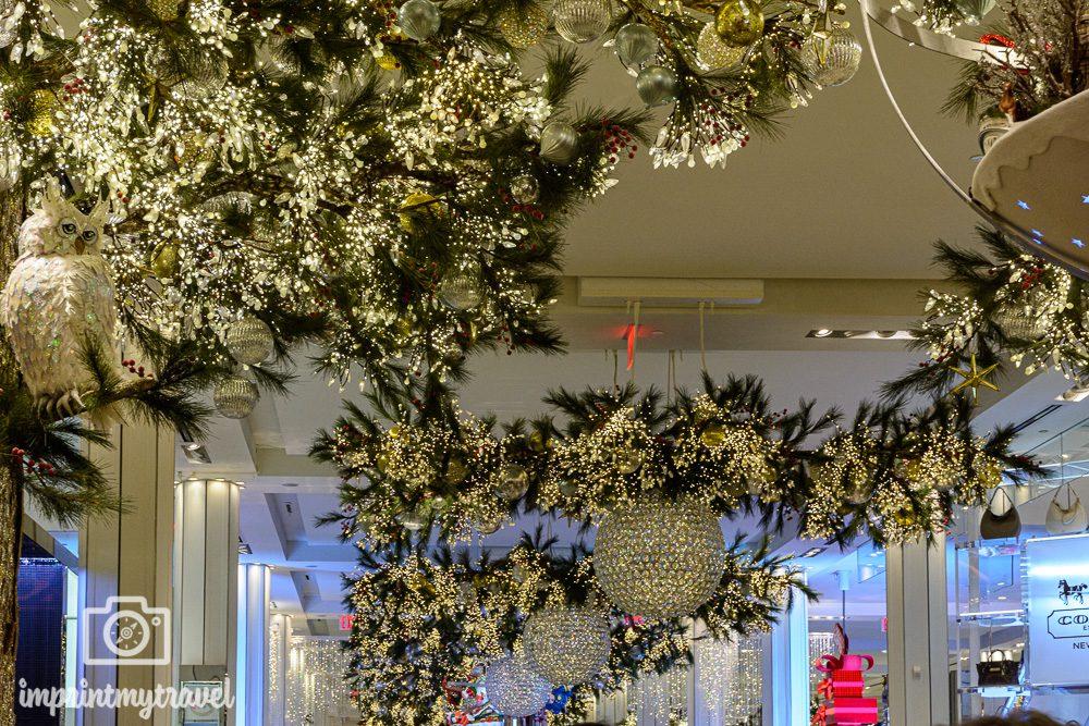 Weihnachtsdekoration bei Macy's New York