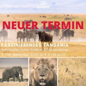 fotoreise tansania 2022 widget