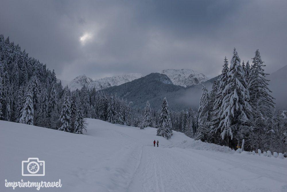 Fotografieren im Winter Kamerabelichtung