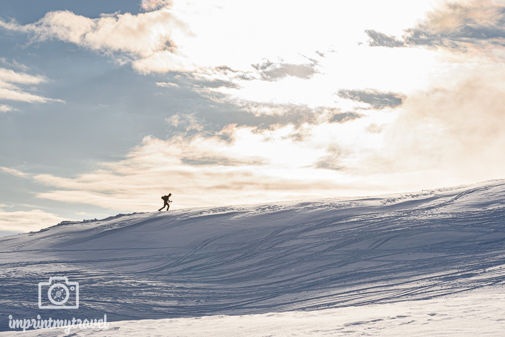 Schneefotos überbelichtet