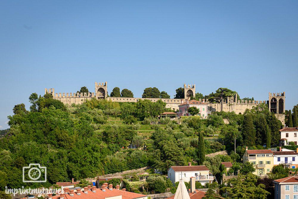 Alte Stadtmauer von Piran