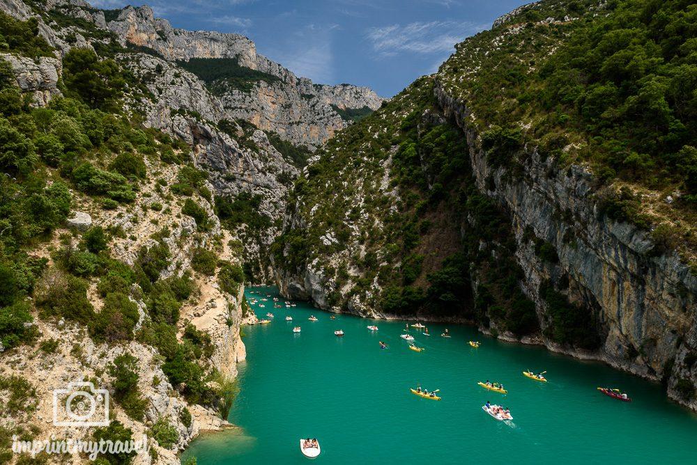 Verdonschlucht, Provence