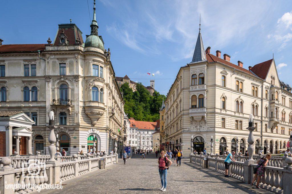 Ljubljana Sehenswürdigkeiten Brücken