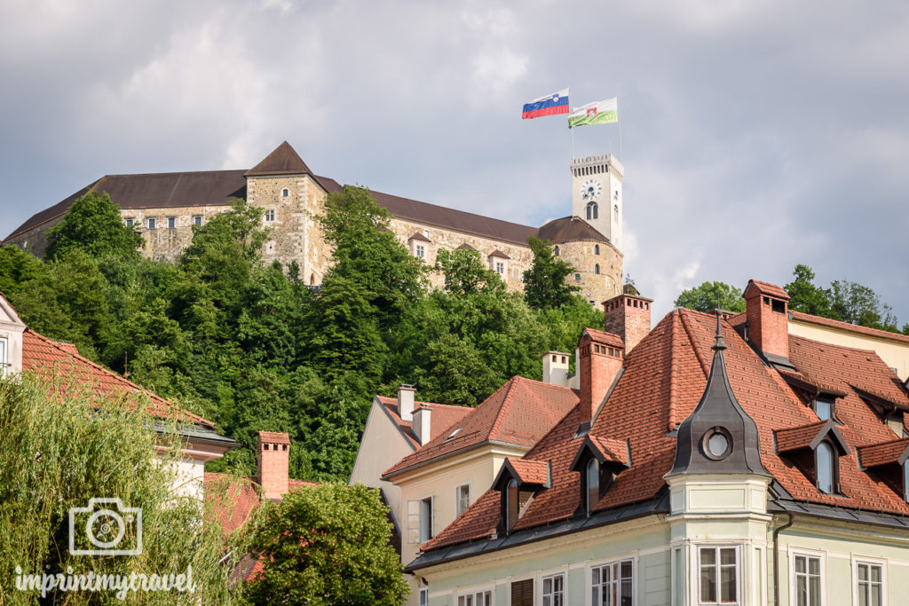 Ljubljana Sehenswürdigkeiten Burg