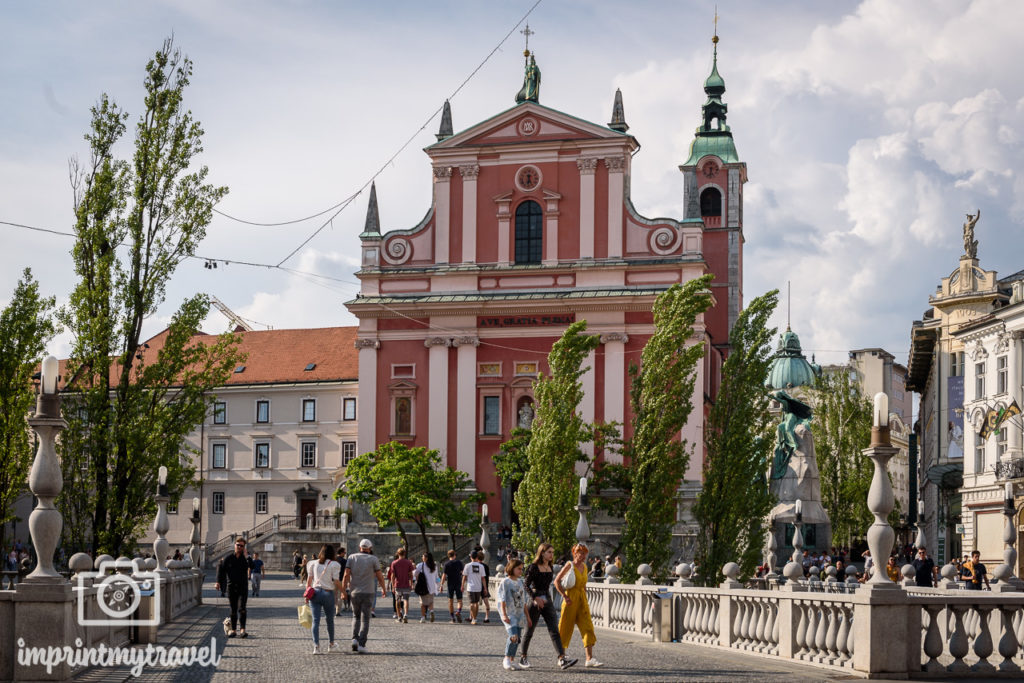 Ljubljana Sehenswürdigkeiten Prešeren-Platz