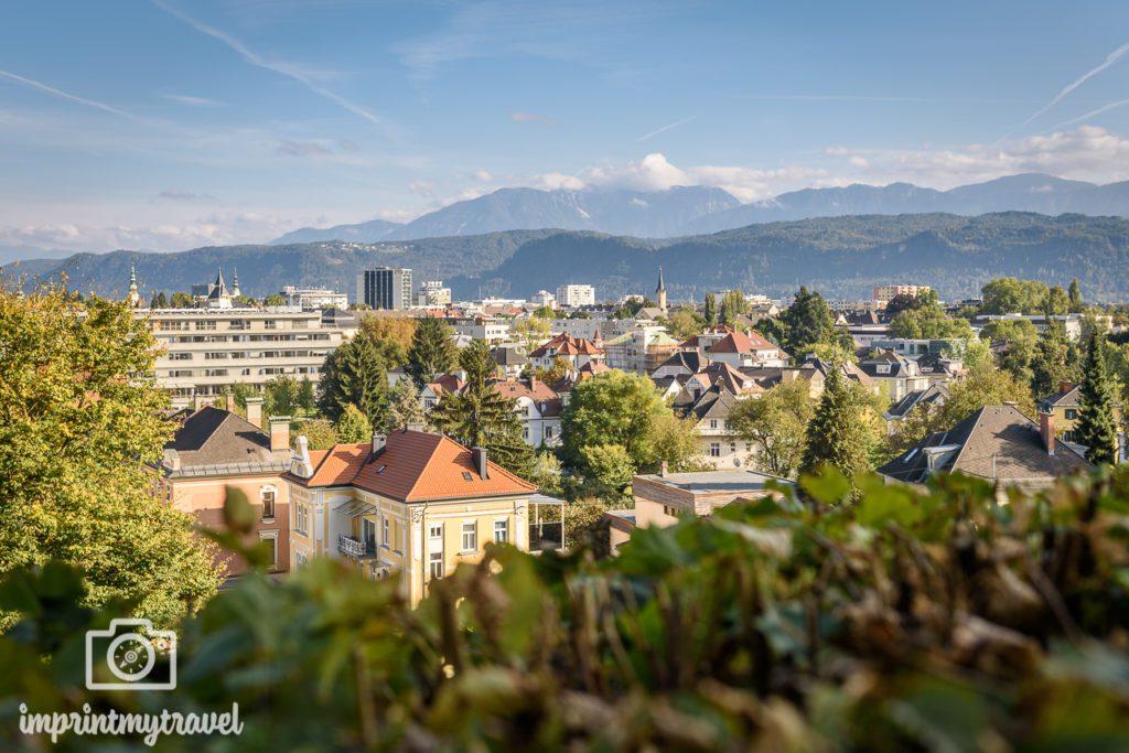 Klagenfurt Aussicht Kreuzbergerl