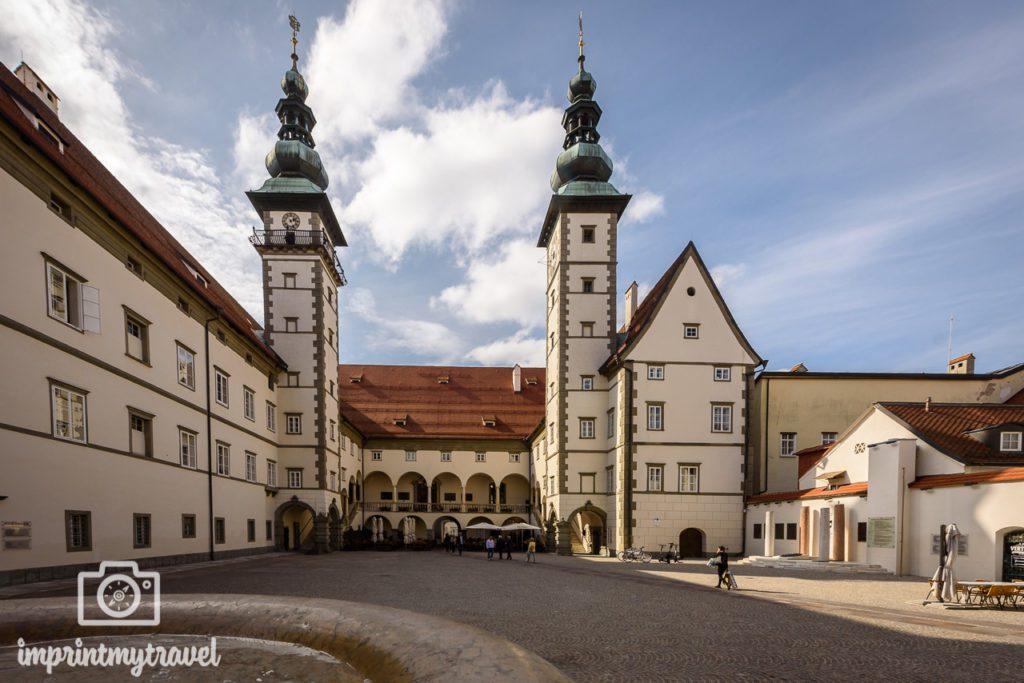Klagenfurt sehenswürdigkeiten landhaus
