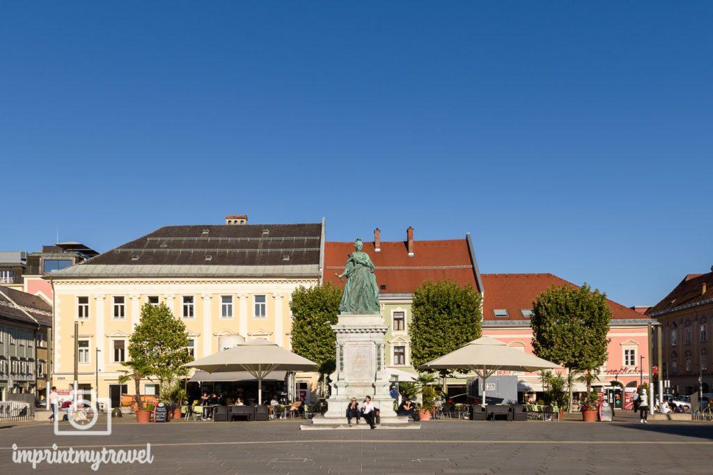 Klagenfurt sehenswürdigkeiten maria theresia denkmal