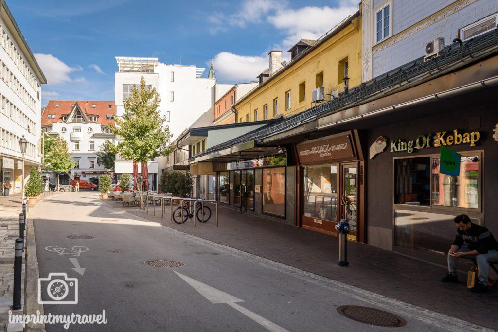 Klagenfurt tipps Fleischmarkt